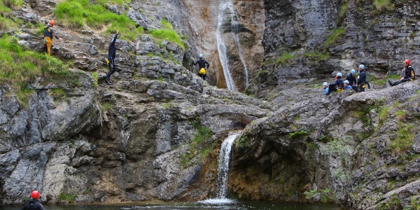 Canyoning Stuibenfälle
