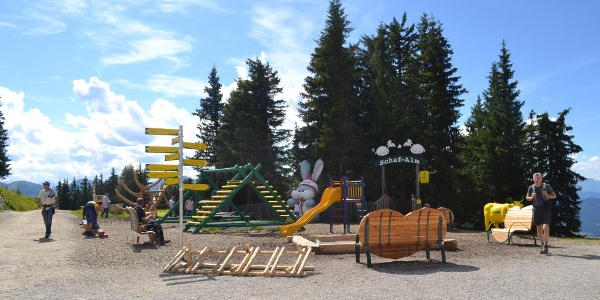 Playground at Hopsiland Planai