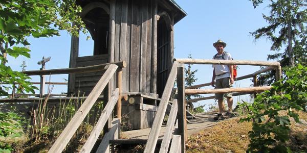 Aussichtsturm am Ort der ehemaligen Losburg