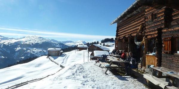 Die 'Bodähütte' - uriges Ausflugsbeizli im Winter