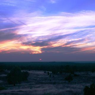 Sonnenuntergang Wilseder Berg