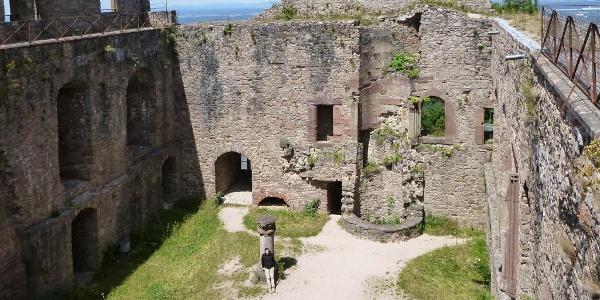 Burghof des Alten Schlosses