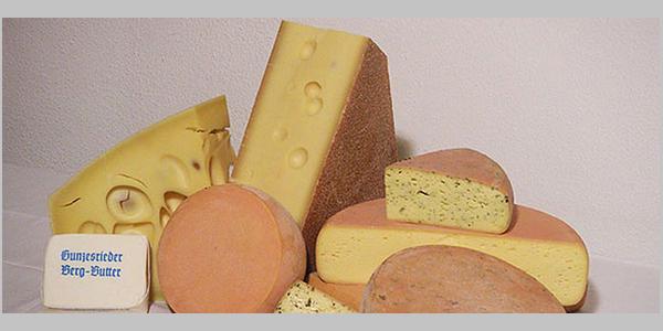 Verschiedener Käse