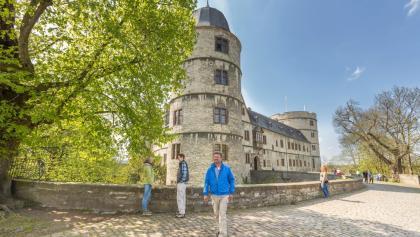 Wanderer an der Wewelsburg