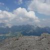 Gipfelkreuz des Monte Kanin
