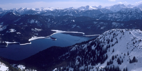 Walchensee und östliches Karwendel