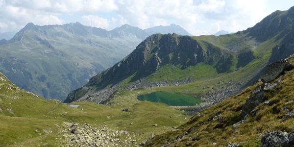 Blick auf den Alpguessee