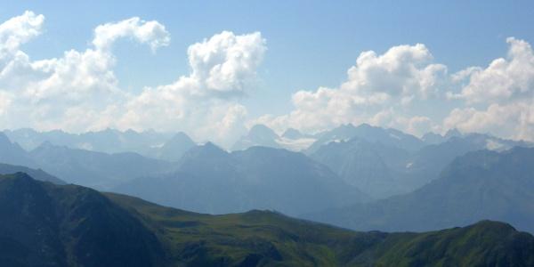 Blick in die Silvretta