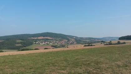 Ausblick auf der Höhe Fockenberg-Limbach