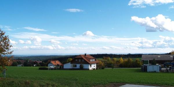 Blick vom Bürgerhaus
