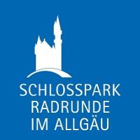 Einhängeplakette Schlossparkradrunde im Allgäu