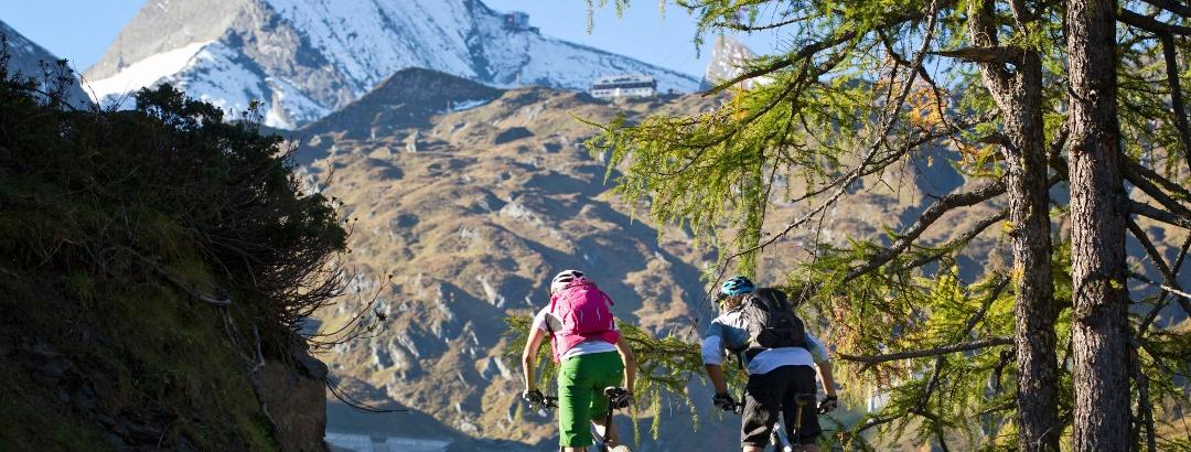 Biketour zum Kitzsteinhorn