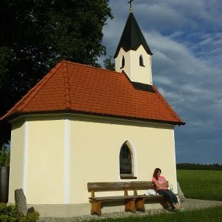 Hubertuskapelle über Kuglstadt