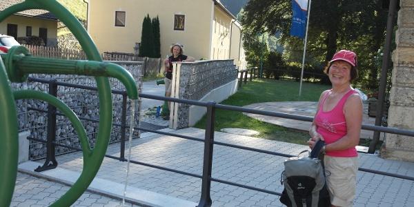 Wiener Hochquellenwasser in Kaiserbrunn