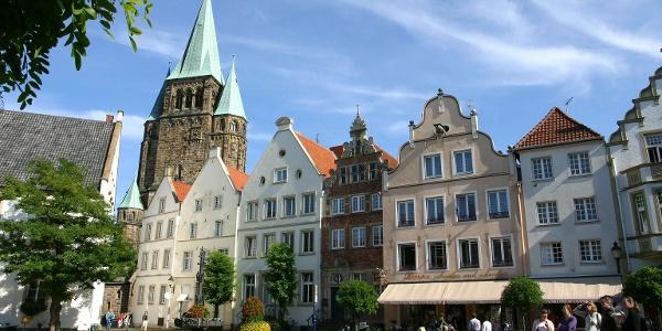 Historischer Marktplatz von Warendorf