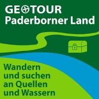 """Logo """"GeoTour Paderborner Land"""""""
