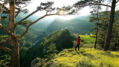 Unterwegs am Wiener Alpenbogen