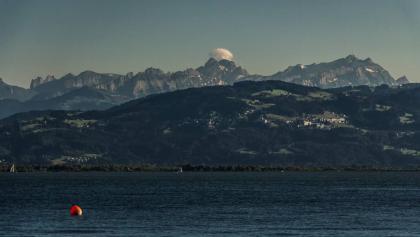 Blick auf den Säntis von Lindau aus