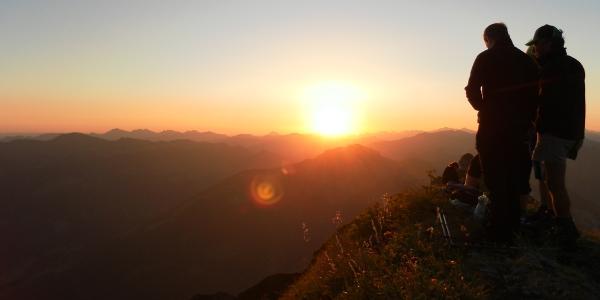 Sonnenaufgang Kansifluh
