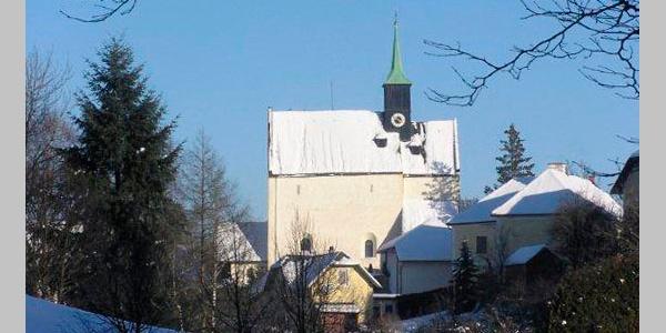 Wehrkirche Bad Schönau im Winter