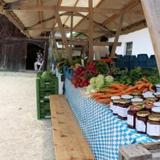 Bauernmarkt Erding im Bauernhausmuseum
