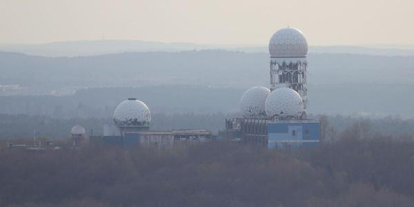 Berlin's Listening Tower on top of Teufelsberg