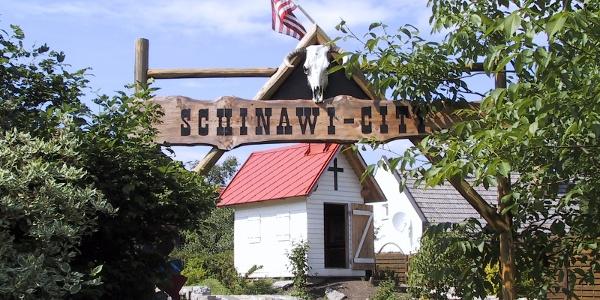Willkommen in der Schinawi-City (Copyright: zVg Gemeinde Purgstall)