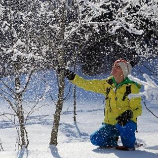 Schneeschuhtour am Vorberg