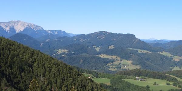 Schneeberg und Ötscher