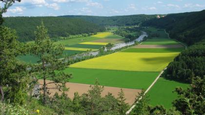 Altmühltal-Panoramaweg - Blick vom Rosskopf bei Riedenburg