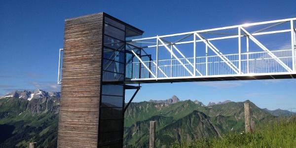 Panorama-Aufzug am Walmendingerhorn