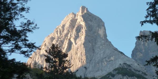 Blick zurück von der Engerthütte