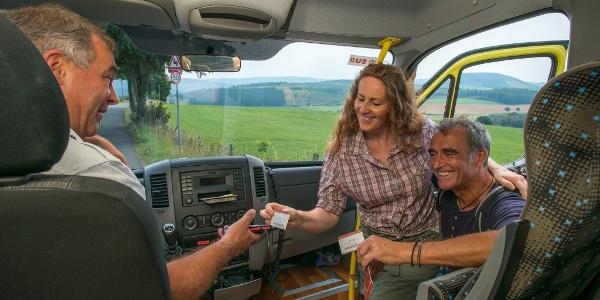 Kostenloses Busfahren mit der Schmallenberger Sauerland Card
