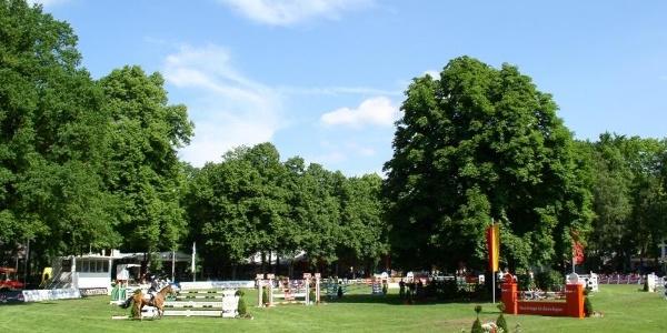 Reitturnier auf dem Schützenplatz Paderborn