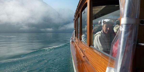 Mit dem Elektroboot nach Salet