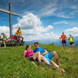 Gipfelsieg am Kreuzkogel