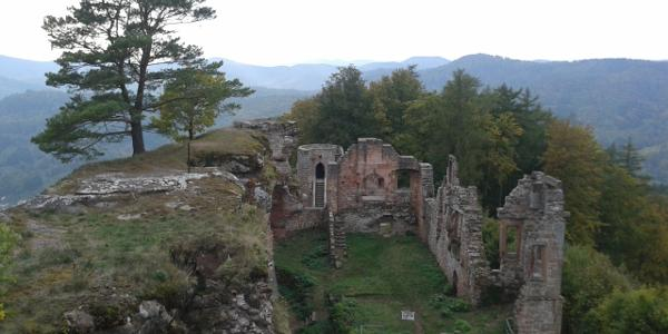 Ruine Neuscharfeneck