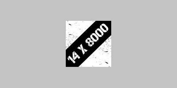 """Logo der """"14 Achttausender im Osterzgebirge"""""""