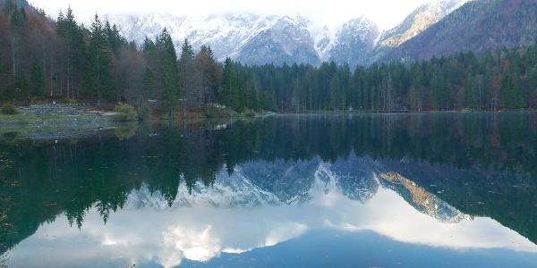 Am unteren Weißenfelser See