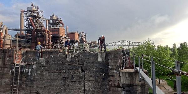 Klettergarten mit Industriemuseum