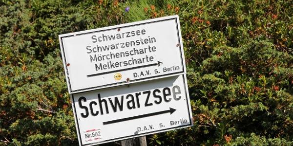 Start oberhalb der Berliner Hütte
