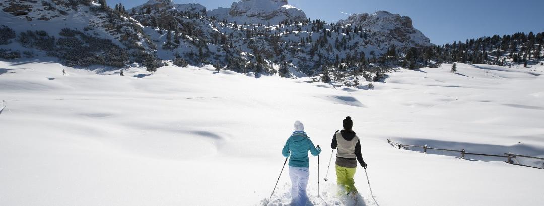 Schneeschuhwandern in der Ferienregion Kronplatz