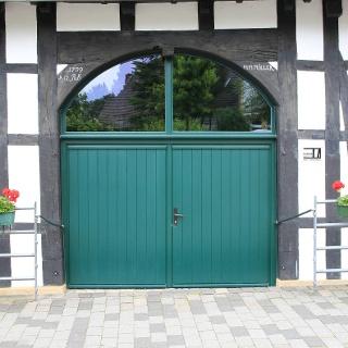 Eingangstor zum Kultur- und Heimathaus