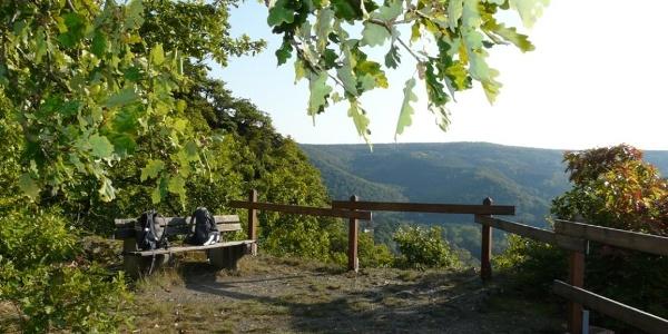 Aussichtspunkt am Felsenpfad