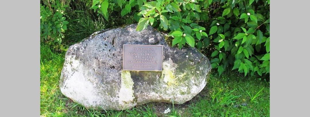 König-Ludwig II.-Gedenkstein Urfahrn