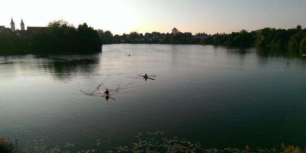 Der Stadtsee in Bad Waldsee
