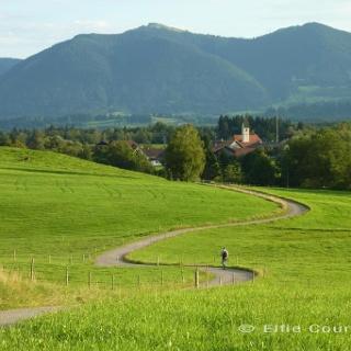 Fernwanderweg - Meditationsweg, 2. Etappe - Blick Richtung Schöffau