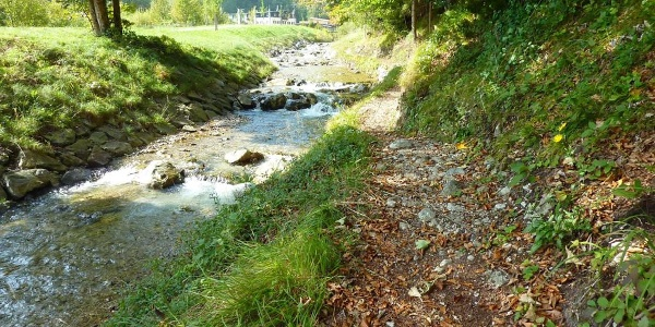 Fernwanderweg - Meditationsweg, 6. Etappe - Am Gießenbach