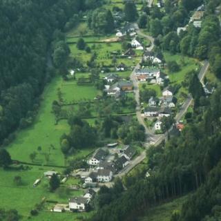 Luftbild von Eicherscheid