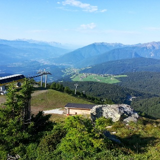 Aussicht von der Gitschhütte